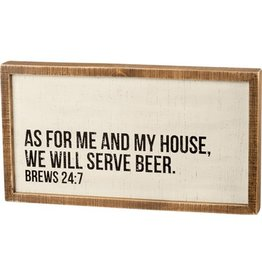 Pomp & Prose In This House We Serve Beer PPT
