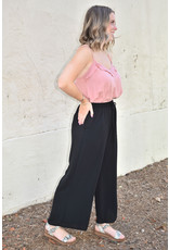 Lyla's: Clothing, Decor & More Black Crop Flare Pants