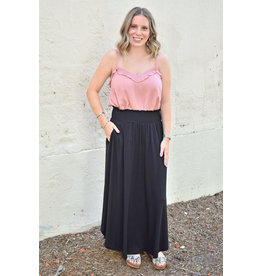Lyla's: Clothing, Decor & More Black Maxi Skirt