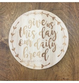 Lyla's: Clothing, Decor & More Daily Bread Bamboo Trivet
