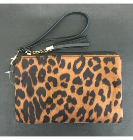 Lyla's: Clothing, Decor & More Leopard Clutch
