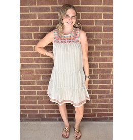 Lyla's: Clothing, Decor & More Go With It Embroidered Dress