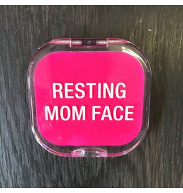 Lyla's: Clothing, Decor & More Resting Mom Face Compact Mirror
