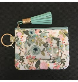 Lyla's: Clothing, Decor & More ID Wallet: Mint Floral