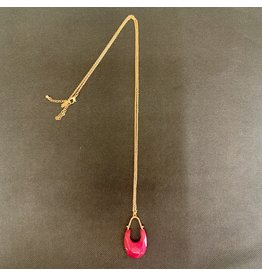 Lyla's: Clothing, Decor & More Hot in Pink Necklace