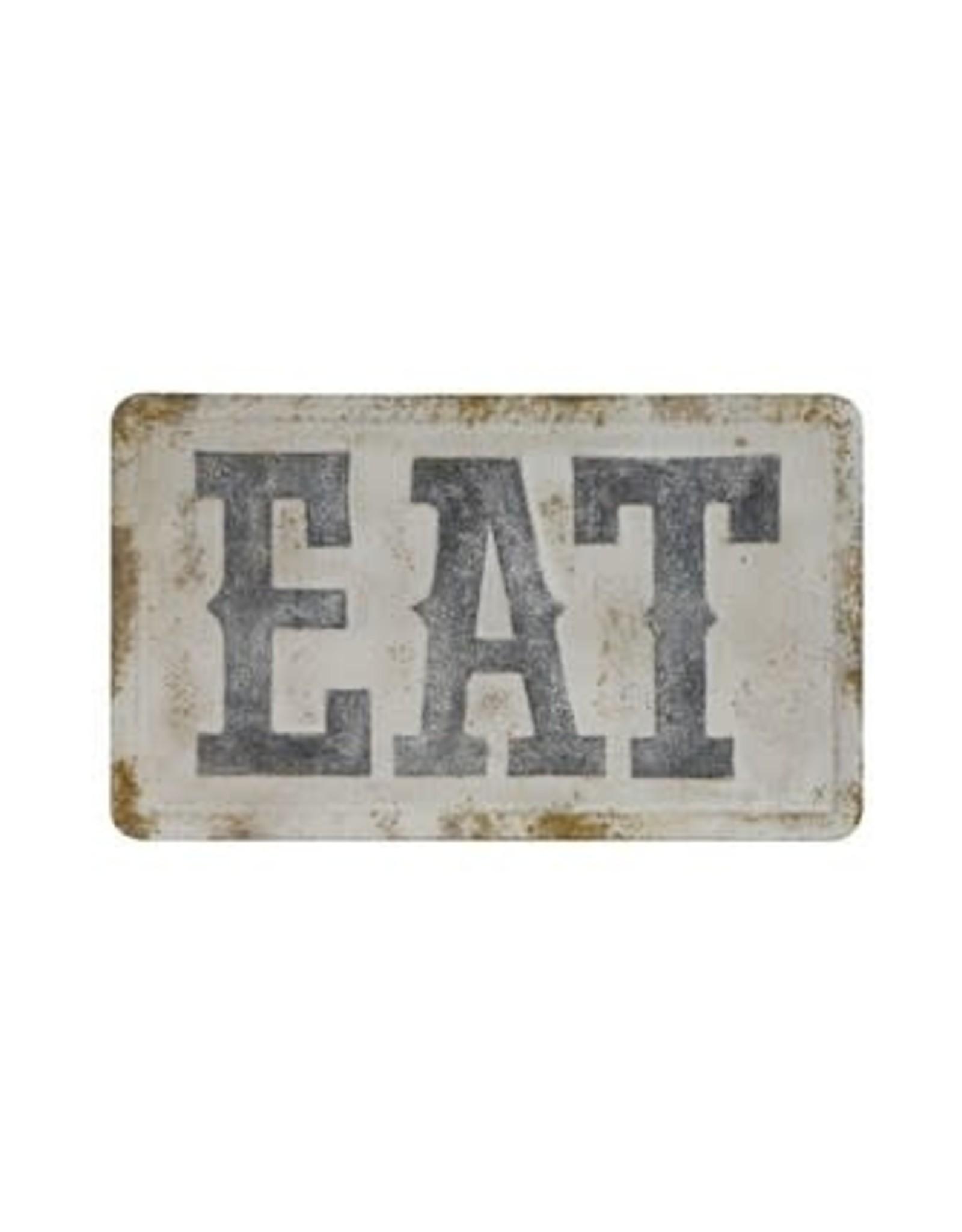 Pomp & Prose Metal EAT Wall Decor PPT