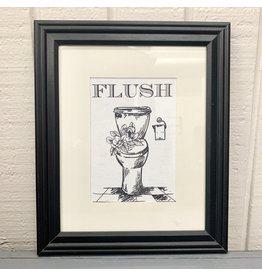 Pomp & Prose Flush 8x10 Framed Print PPT