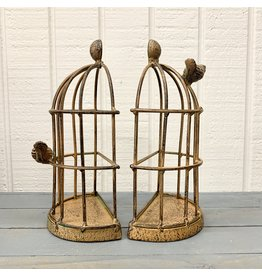 Pomp & Prose Bird Cage Book Ends PPT