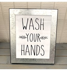 Pomp & Prose Wash Your Hands 8x10 PPT