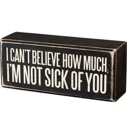 Pomp & Prose Sick of You Box PPT