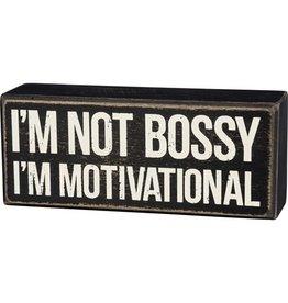 Pomp & Prose I'm Not Bossy Box PPT