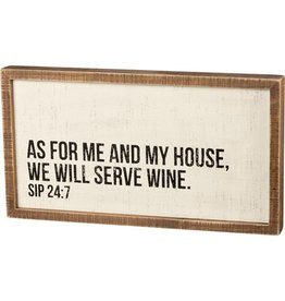 Pomp & Prose In This House We Serve Wine PPT