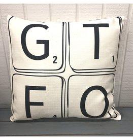 Pomp & Prose GTFO Pillow PPT