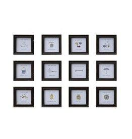 Pomp & Prose Tiny Frame w/Inspirational Prints PPT