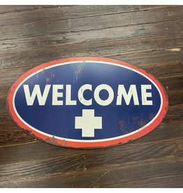 Pomp & Prose Welcome Red White Blue Metal PPT