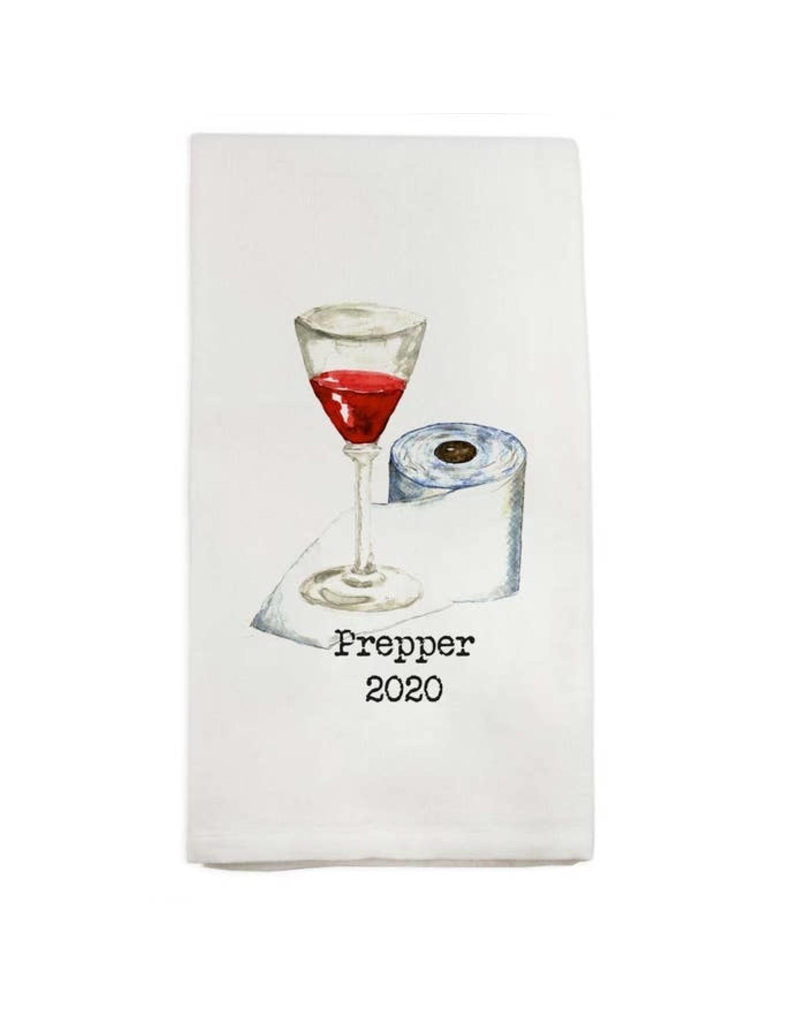 Pomp & Prose Prepper 2020 Tea Towel PPT