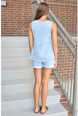 Lyla's: Clothing, Decor & More Blue Mix Loungewear Set