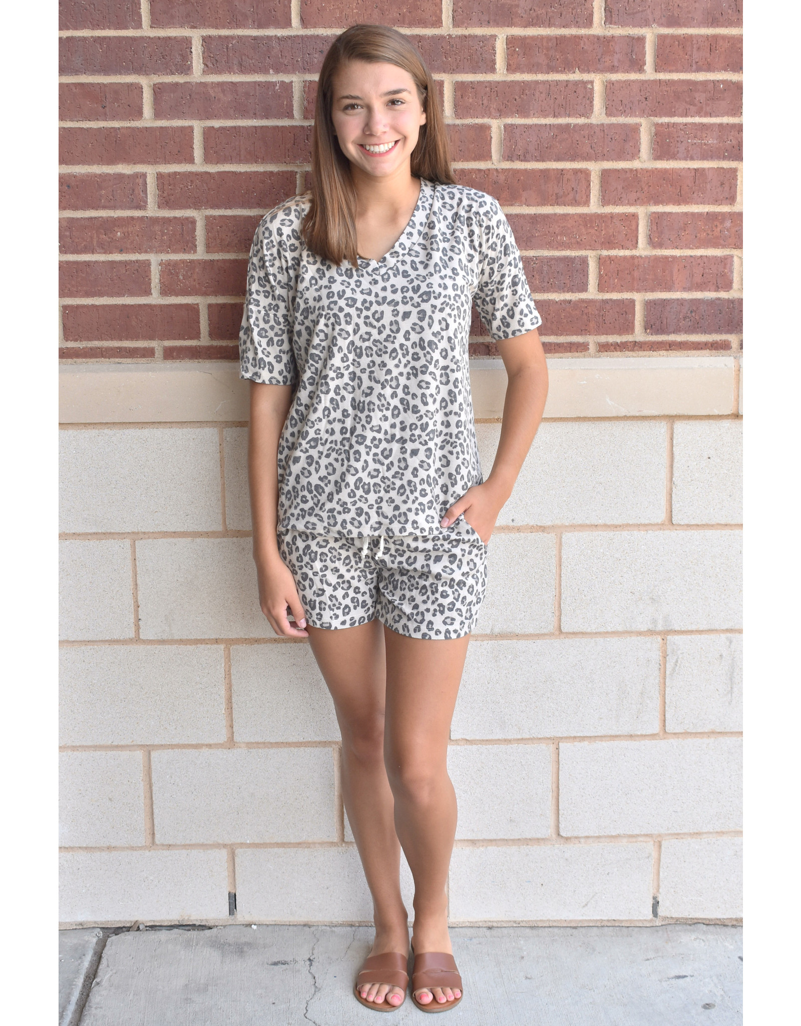 Lyla's: Clothing, Decor & More Better for You Leopard Print Loungewear Set
