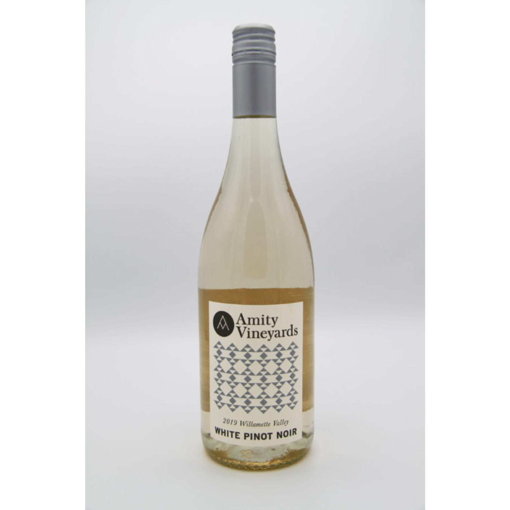 2019 Amity Vineyards White Pinot Noir