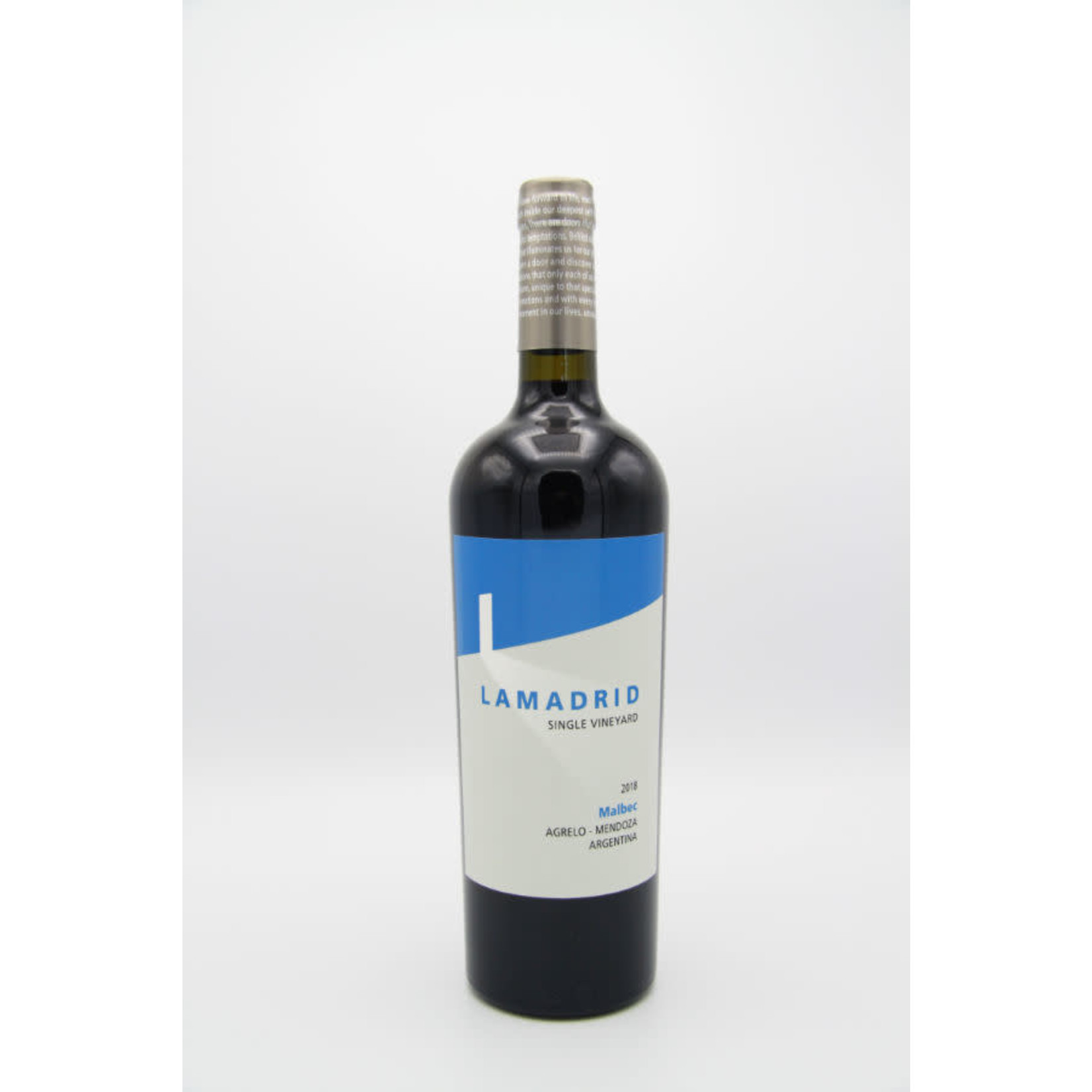 2018 Lamadrid 'Single Vineyard' Malbec