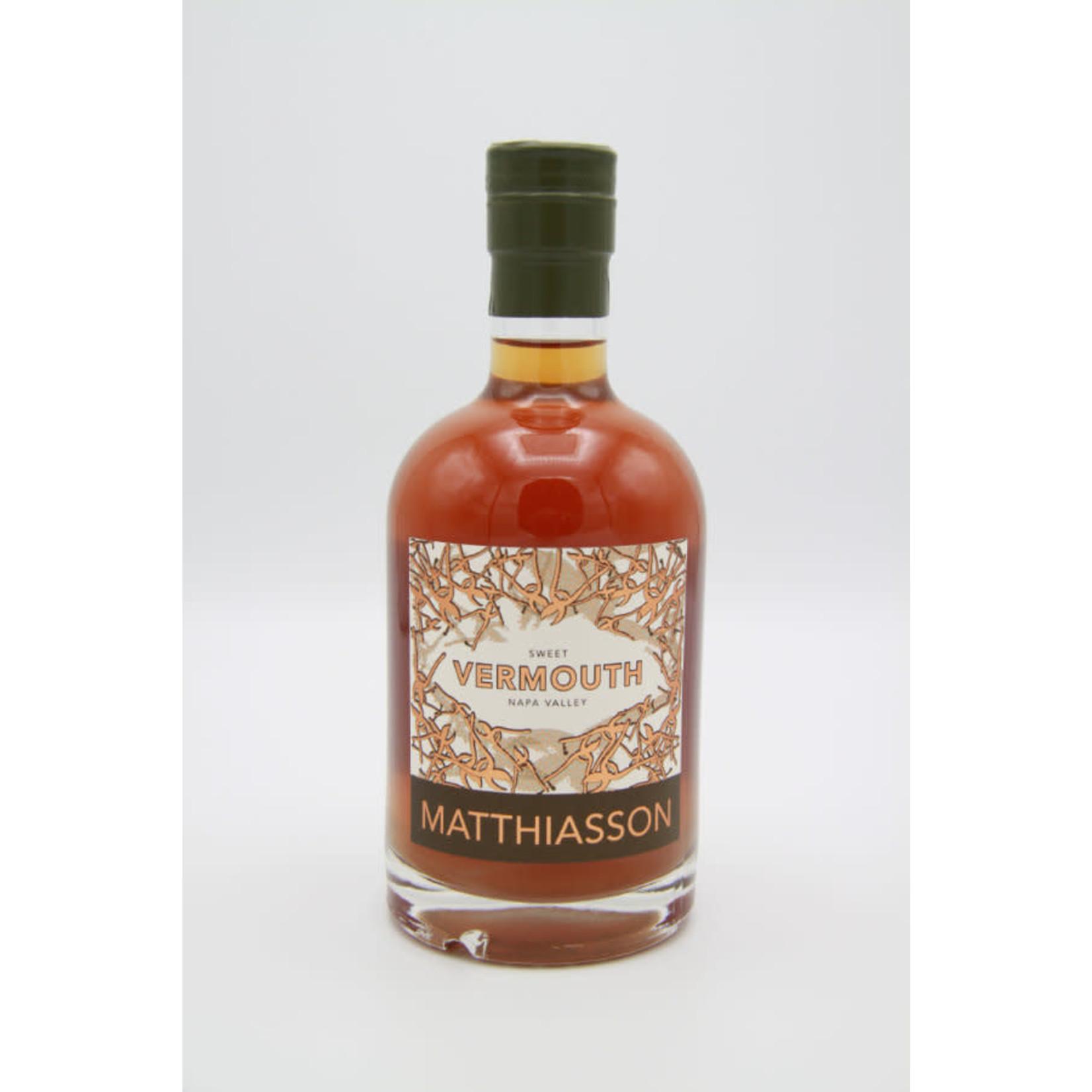 NV Matthiasson Family Vineyards 'No. 4' Sweet Vermouth (375 ml)