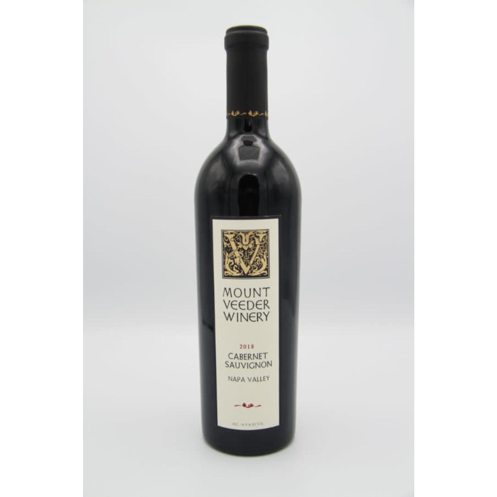 2018 Mount Veeder Winery Cabernet Sauvignon