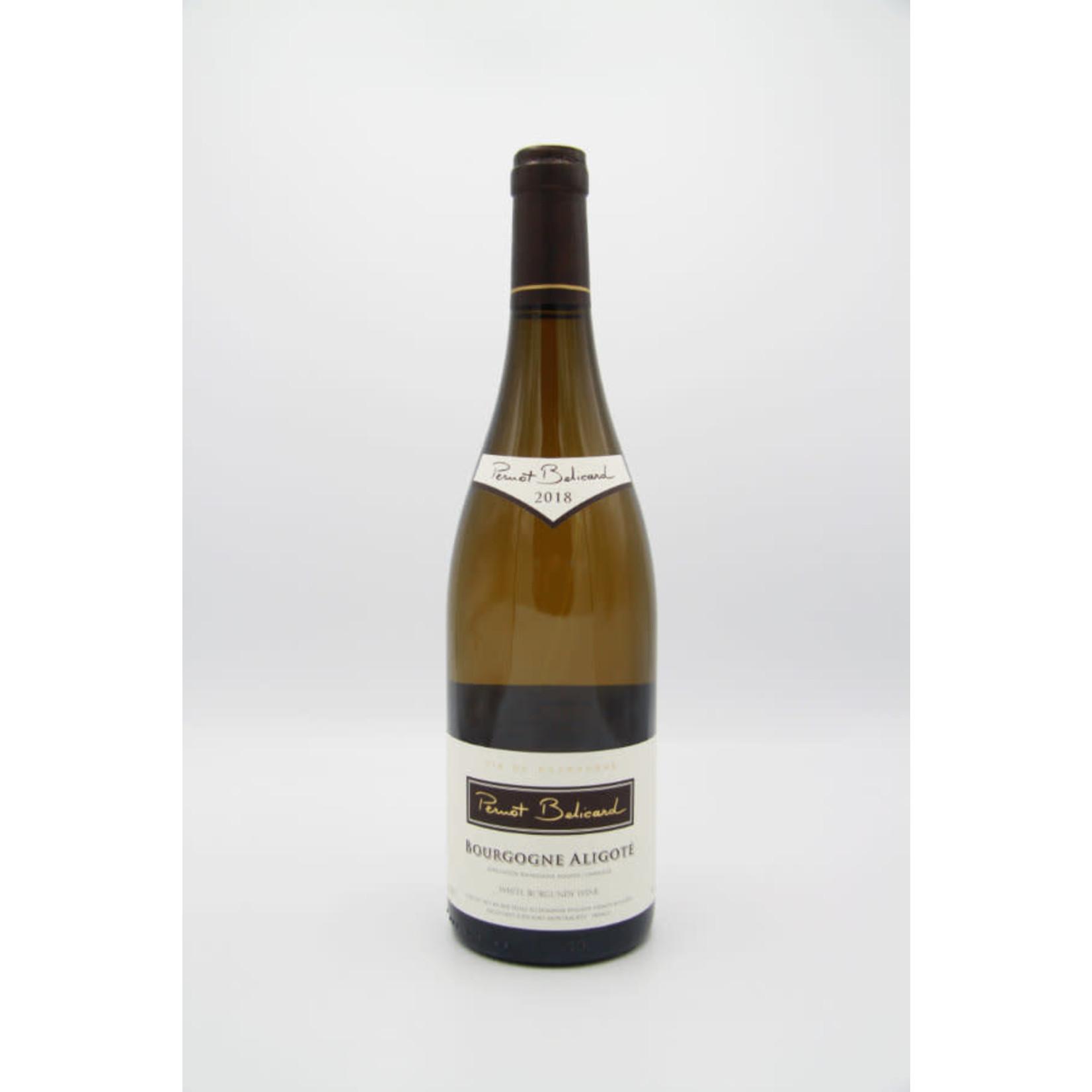 2018 Pernot-Belicard Bourgogne Aligoté