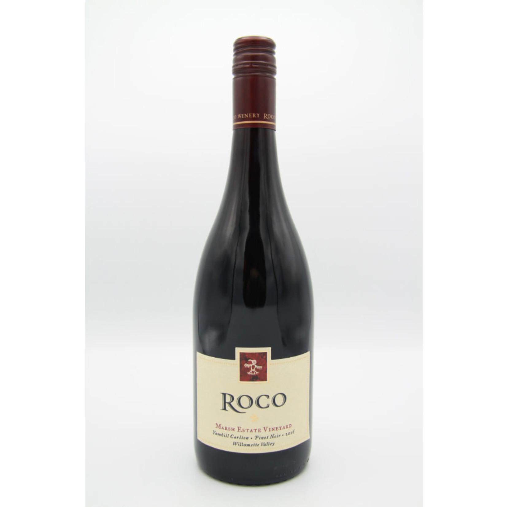 2016 Roco 'Marsh Estate Vineyard' Pinot Noir