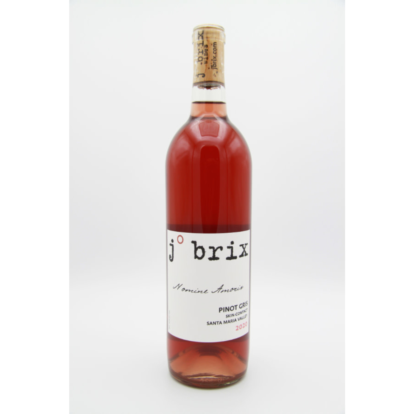 2020 J. Brix 'Nomine Amoris' Skin-Contact Pinot Gris