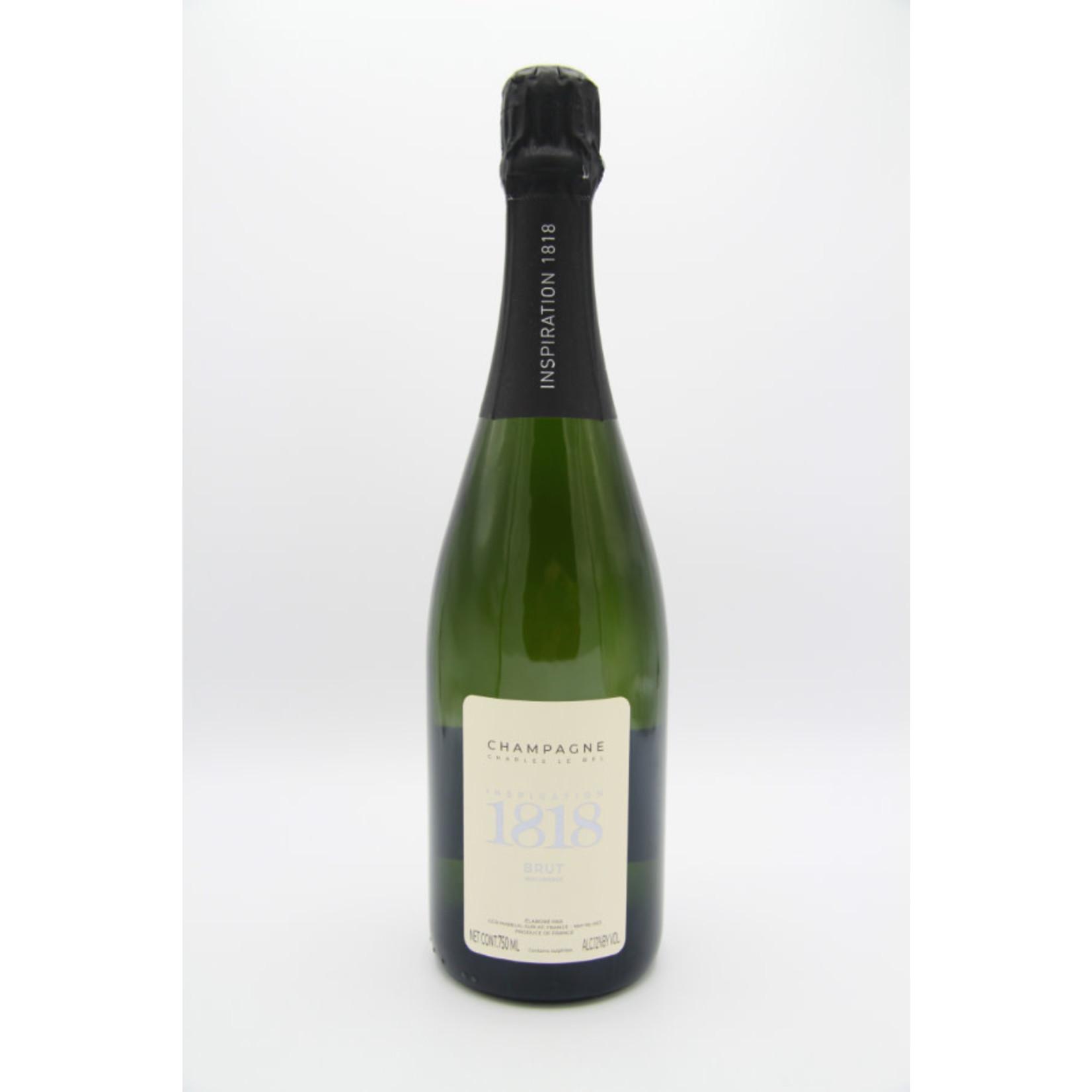 NV Charles le Bel 'Inspiration 1818' Brut Champagne