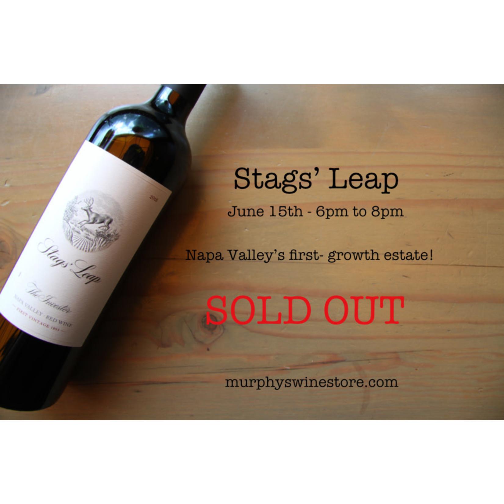 Wine Tasting 6/15/21 - Stags' Leap