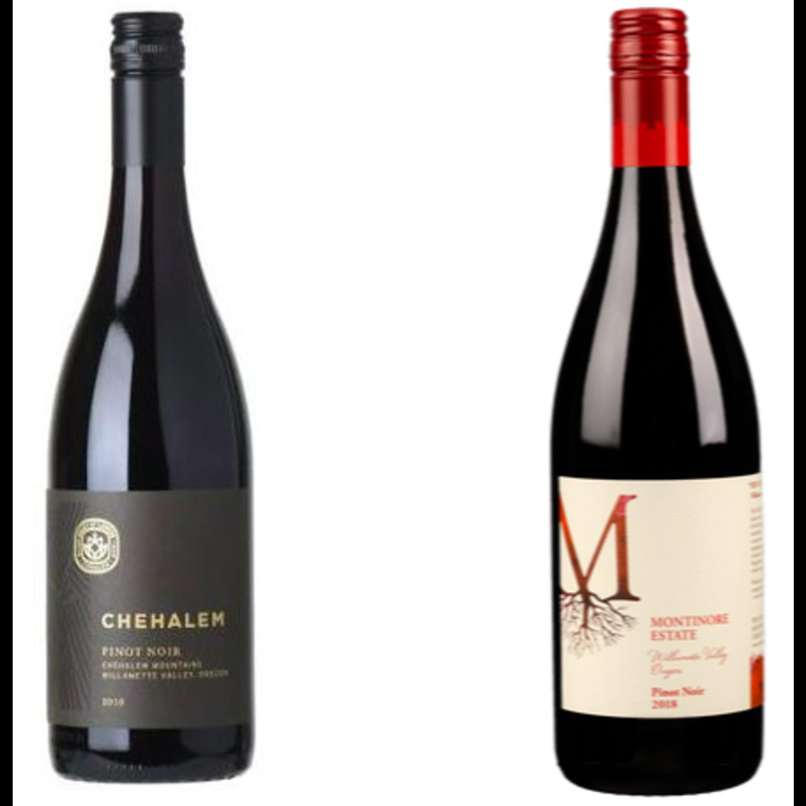 2019 Chehalem Mountain & 2018 Montinore Pinot Noir (2 pack) - 1 btl of each