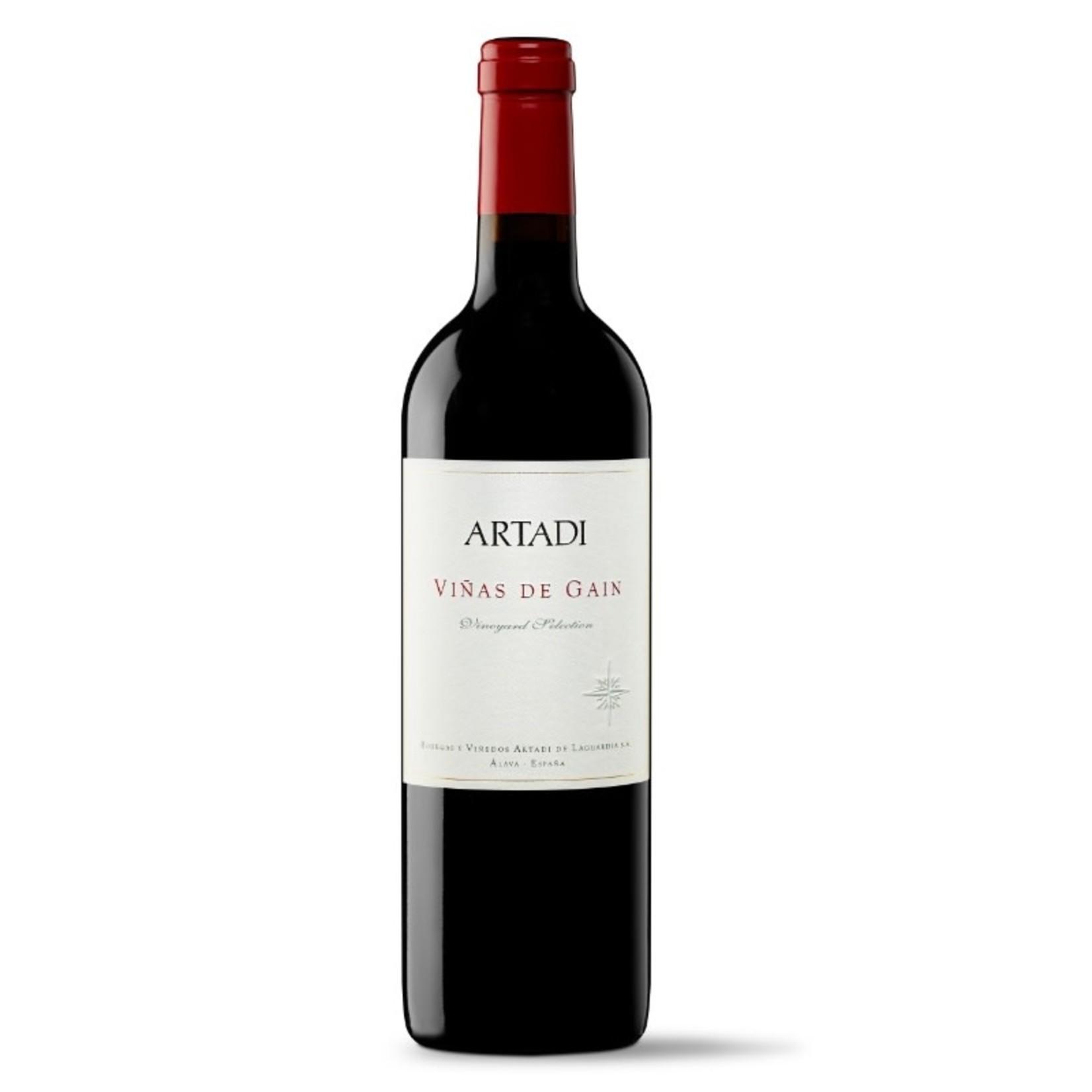2018 Artadi Viñas de Gaín Red