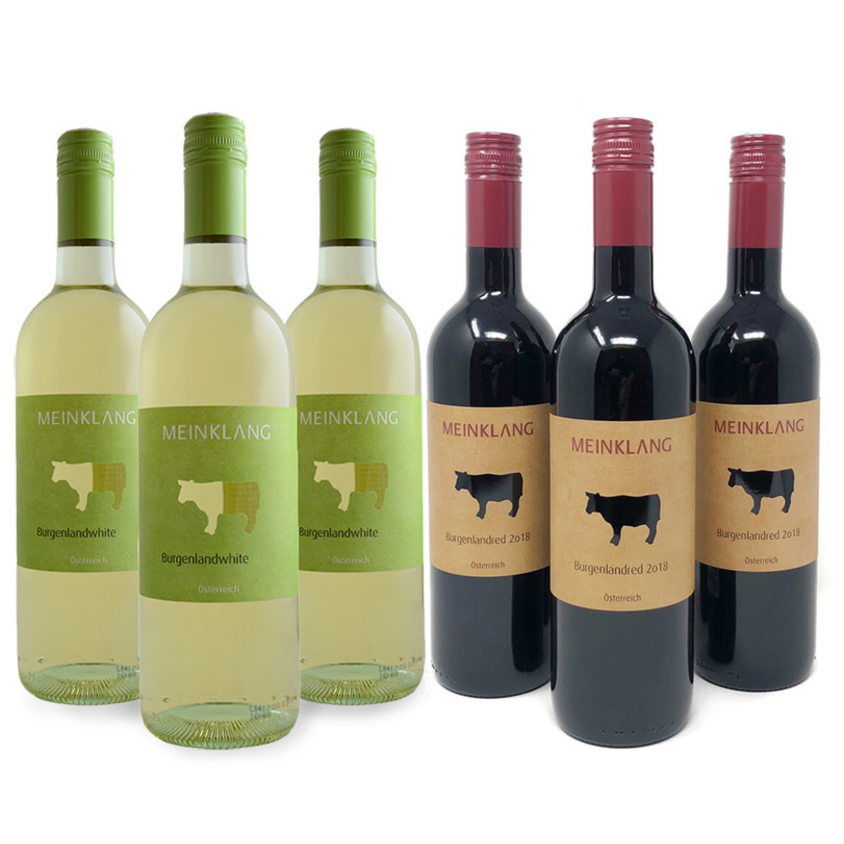 6 pack - 2020 Meinklang Burgenland White & Red