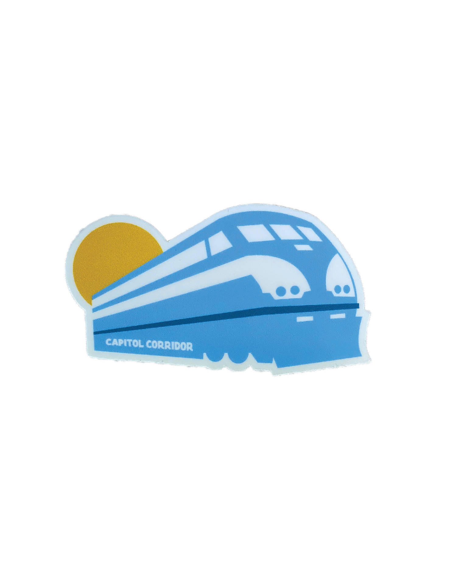 Capitol Corridor F-59 Locomotive Sticker