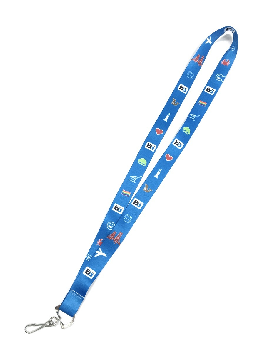 BART Bay Area Icons Lanyard