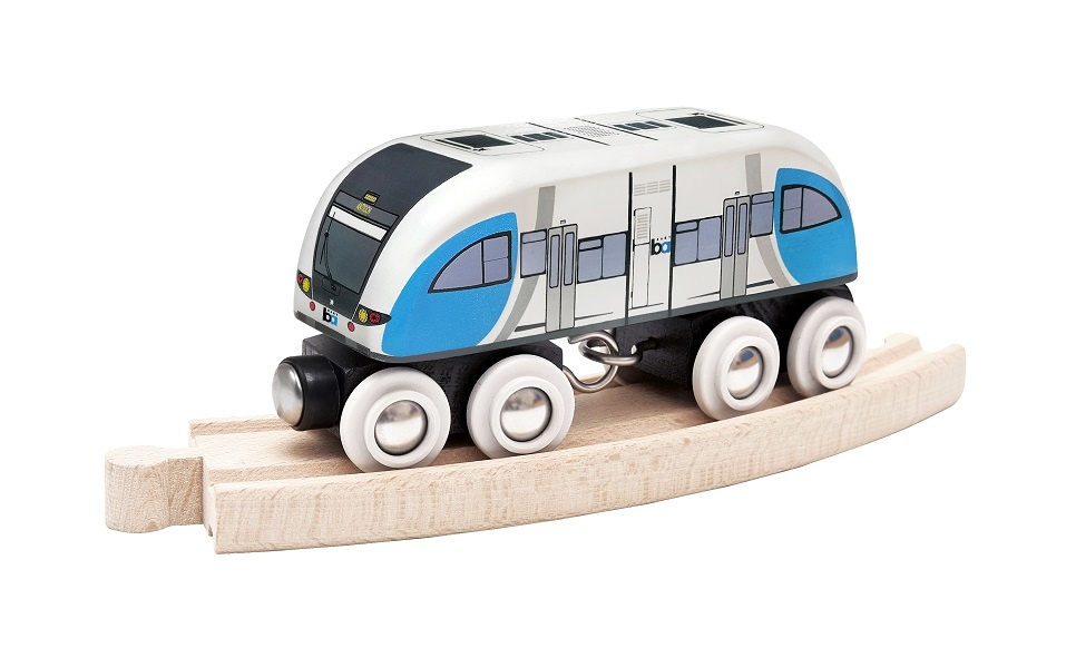 LALOK Wooden Train Car - Antioch