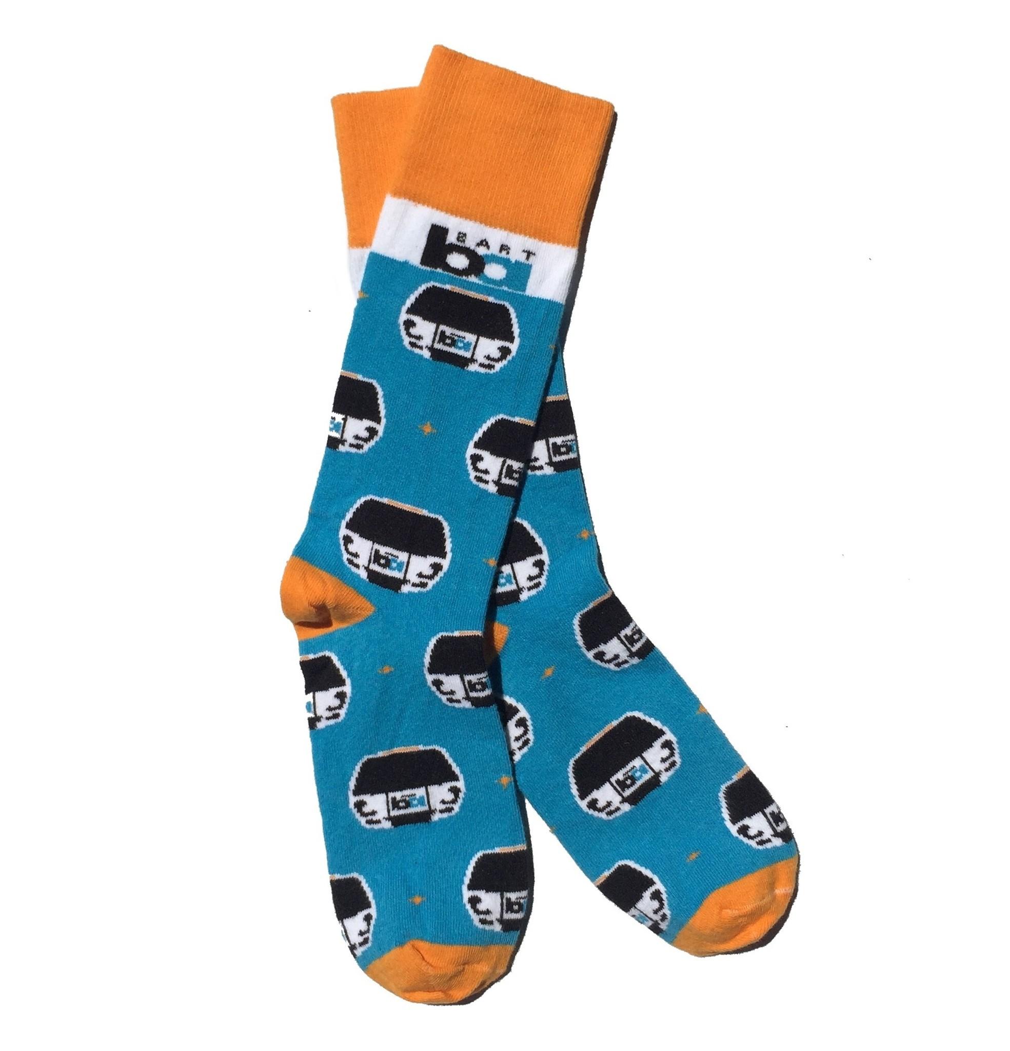 Sock Club BART Train Socks