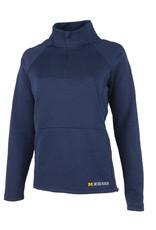 Green Giftz Women's 1/4 Zip Stretch Pullover