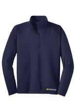 Green Giftz Men's 1/4 Zip Stretch Pullover
