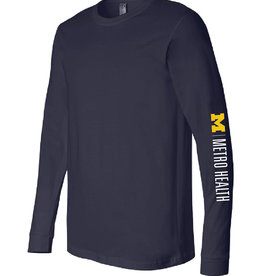 Green Giftz Navy Long Sleeve Jersey Tee
