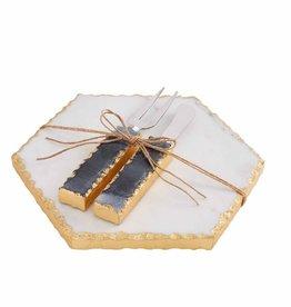 MudPie Marble Cheese Set