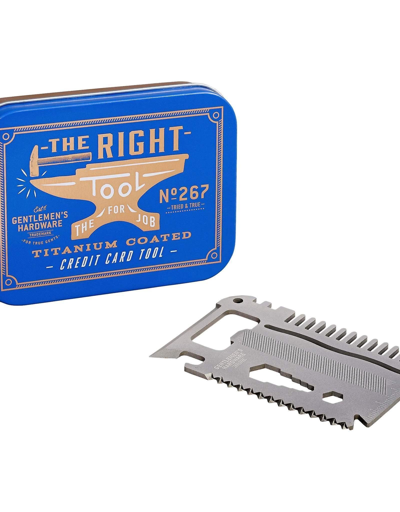 Gentlemen Credit Card Tool