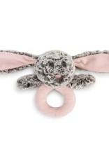Demdaco Isabella Bunny Rattle - Pink