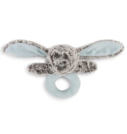 Demdaco Benjamin Bunny Rattle - Blue