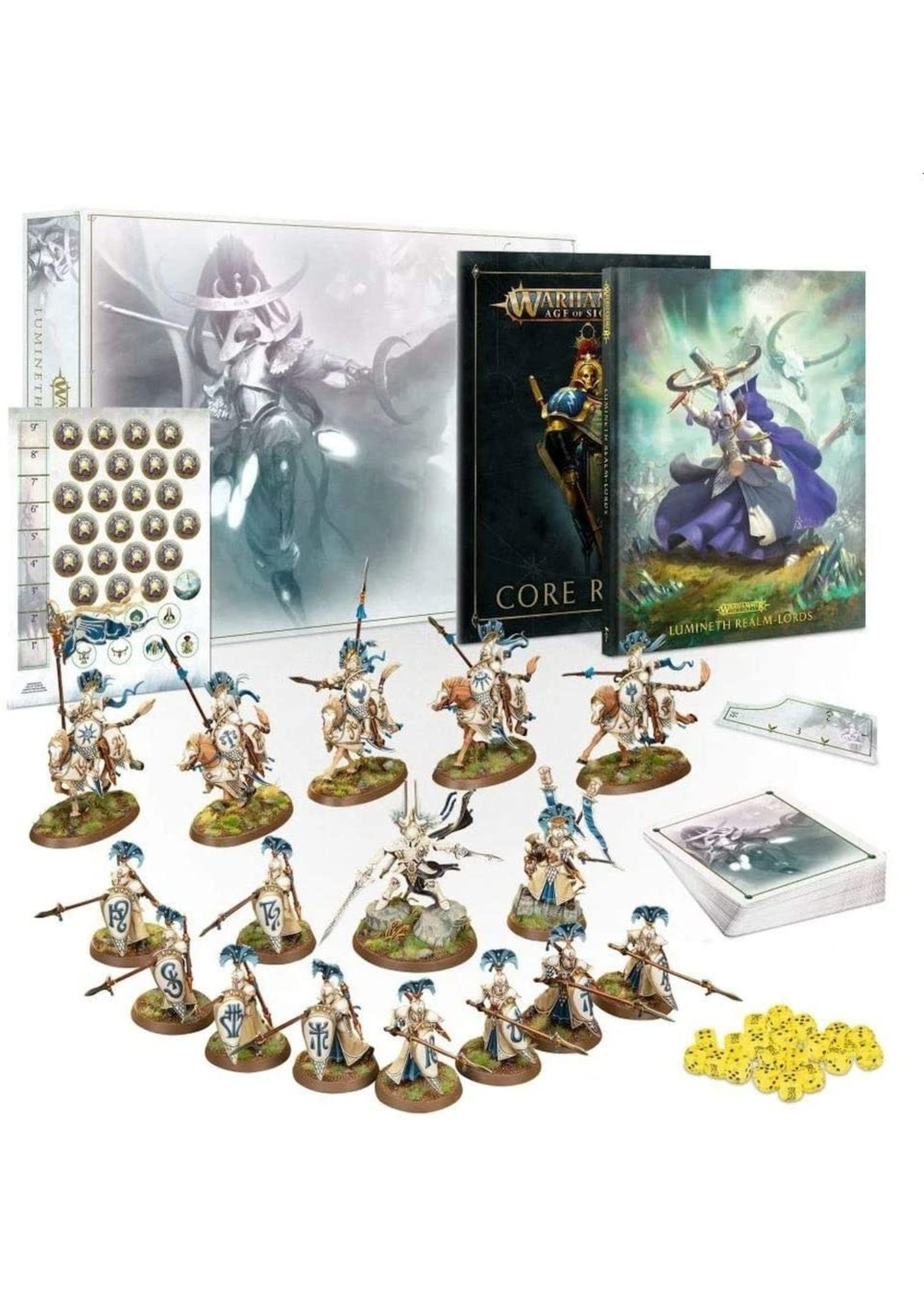 Warhammer: Age of Sigmar Age of Sigmar: Lumineth Realm-Lords Launch Set