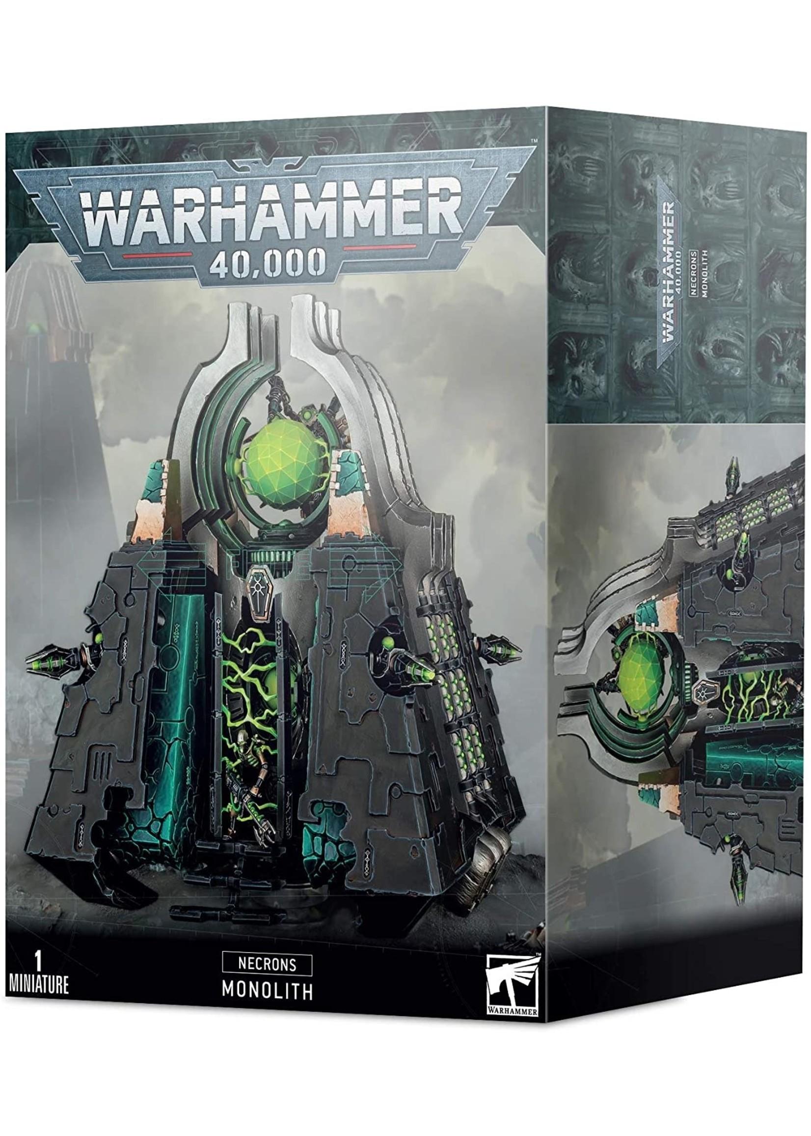 Warhammer: 40K Warhammer 40K: Necron Monolith
