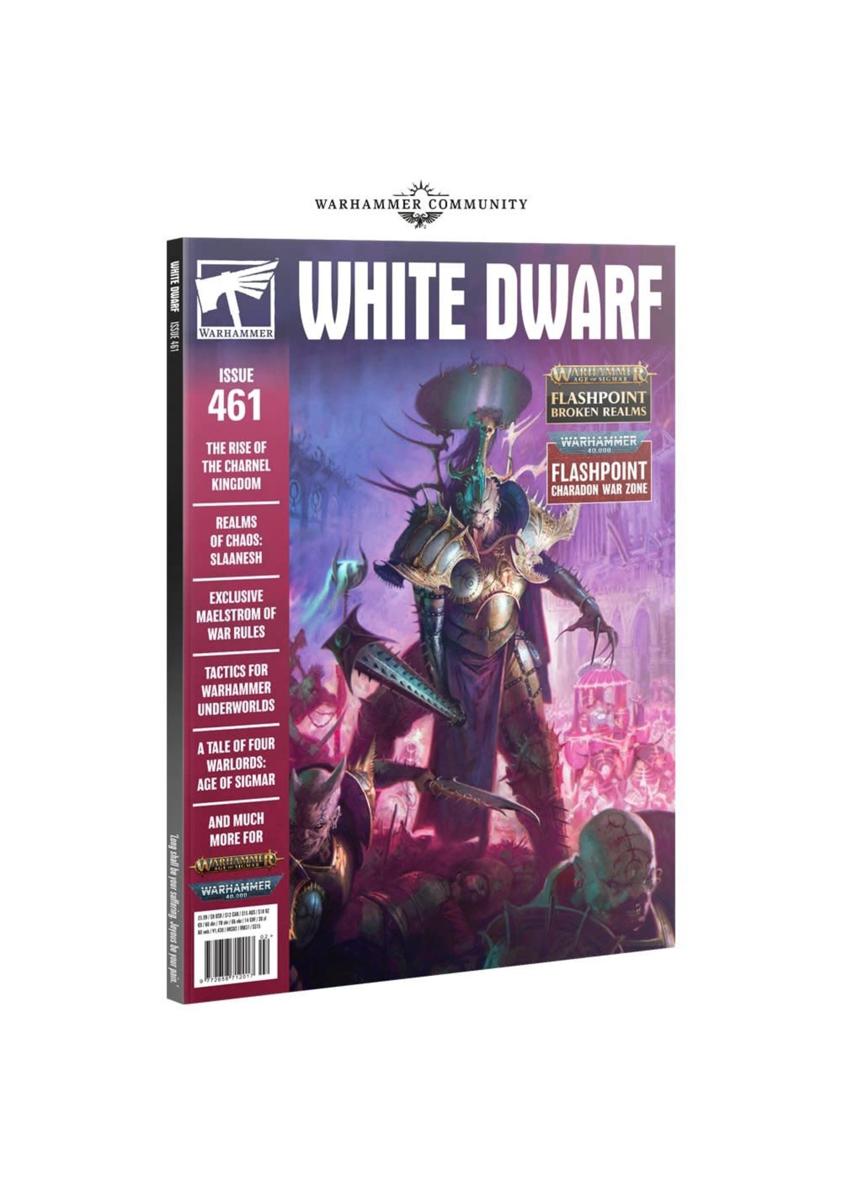 Games Workshop White Dwarf  461 (2/21)