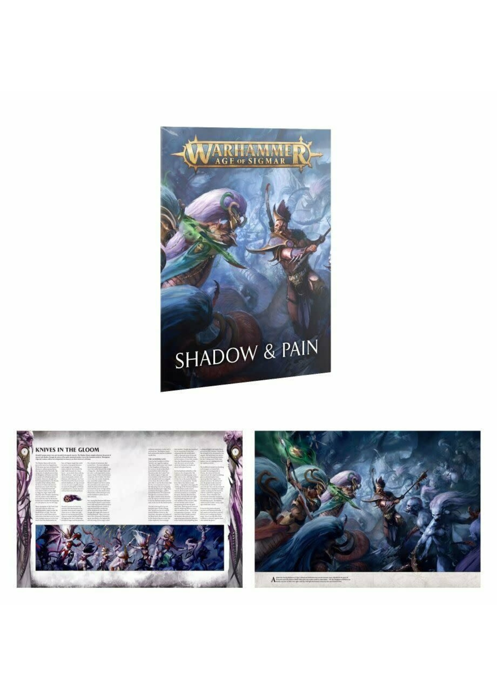 Warhammer: Age of Sigmar Age of Sigmar: Shadow and Pain Box