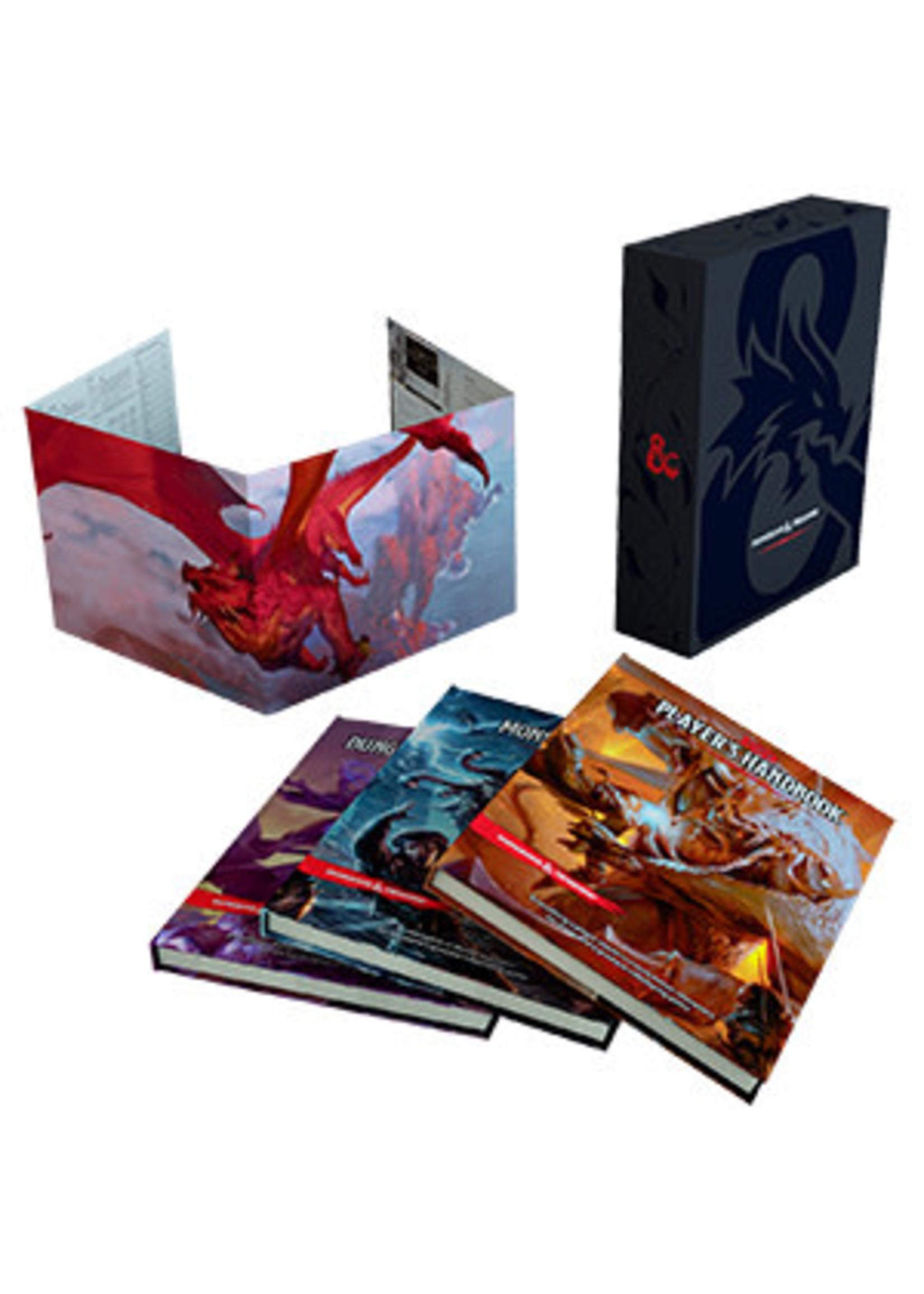 Dungeons & Dragons D&D 5E Core Rulebook Gift Set